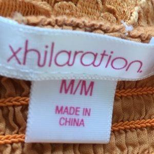 Xhilaration Tops - [Xhilaration] Eyelet Spaghetti Strap Crop Top